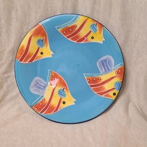 🦋5/$25 Style Eyes Fish 3D-like hand painted plate